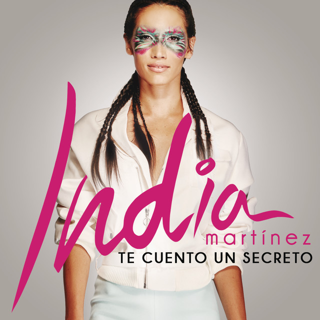 Album cover for Te Cuento un Secreto by India Martinez