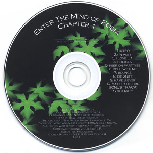 Enter the Mind of Fobia Ch. 1 Albumcover