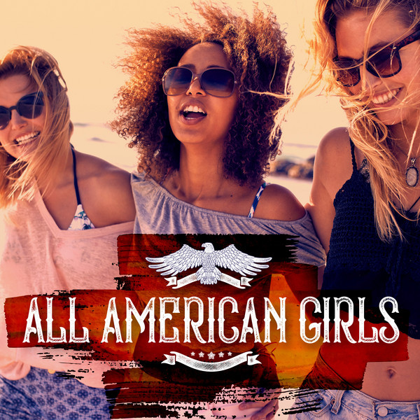 Various Artists All American Girls album cover