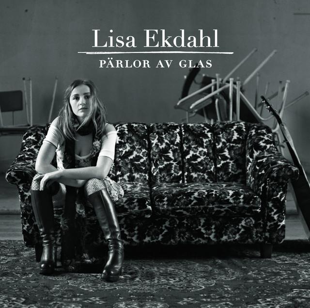 Skivomslag för Lisa Ekdahl: Pärlor Av Glas