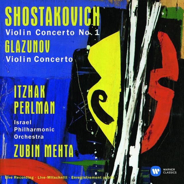 Shostakovich: Violin Concerto No. 1 - Glazunov: Violin Concerto Albumcover