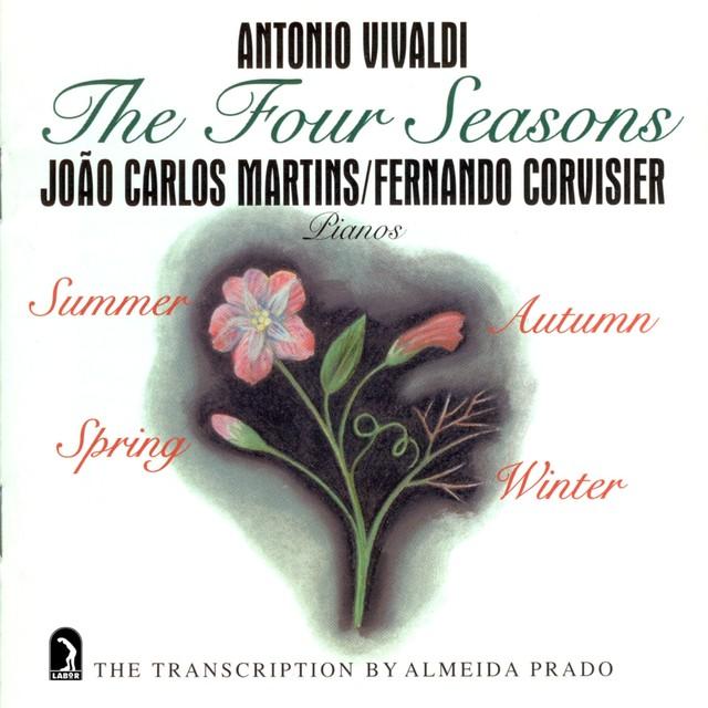 Vivaldi: The 4 Seasons (arr. A. Prado for 2 pianos) Albumcover