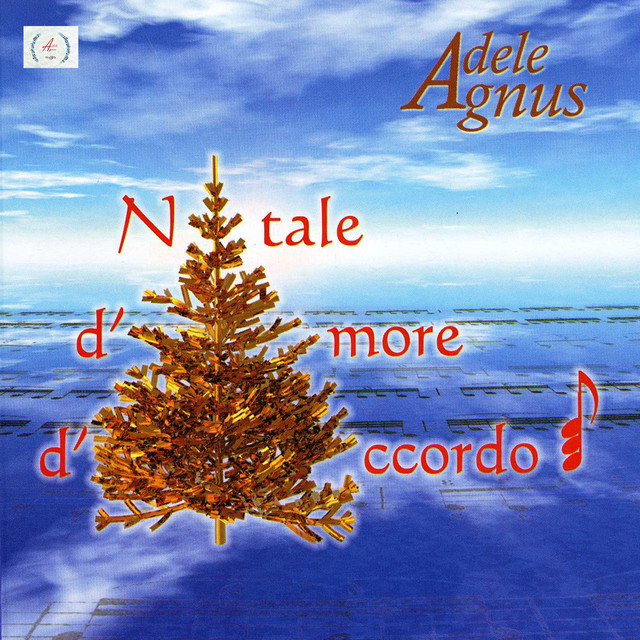 Album cover for Natale d'amore d'accordo by Adele Agnello