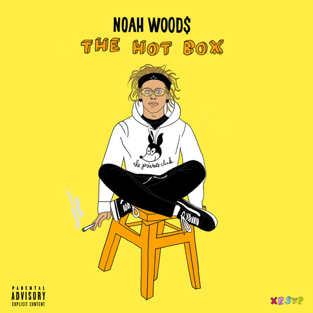 Album cover for HOT BOX by Noah Wood$