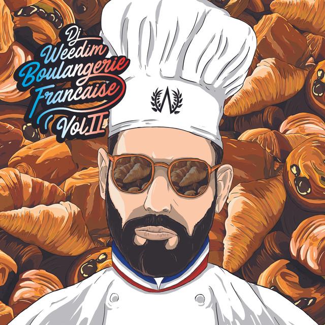 Album cover for Boulangerie Française vol.2 by Dj Weedim