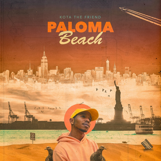 Album cover for Paloma Beach by Kota the Friend