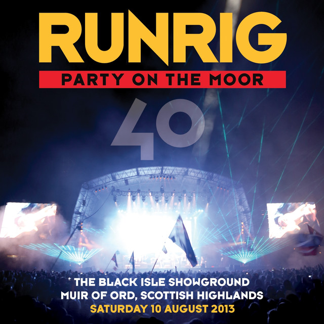Party on the Moor (40: The Black Isle Showground Muir of Ord, Scottish Highlands, Saturday 10 August 2013)