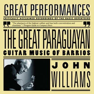 The Great Paraguayan - Solo Guitar Works by Barrios album