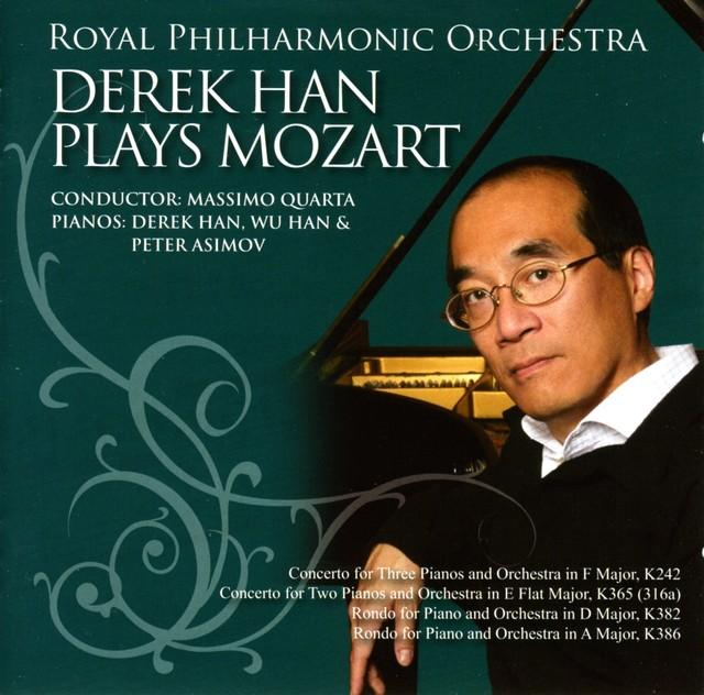 Mozart, W.A.: Rondos - K. 382, 386 / Concerto for 3 Pianos, K. 242 / Concerto for 2 Pianos, K. 365 Albumcover