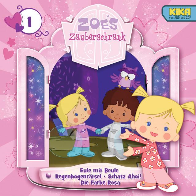 01: Eule mit Beule  -  Regenbogenrätsel  -  Schatz Ahoi!  -  Die Farbe Rosa Cover
