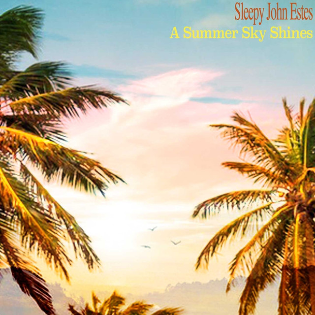 Sleepy John Estes A Summer Sky Shines album cover