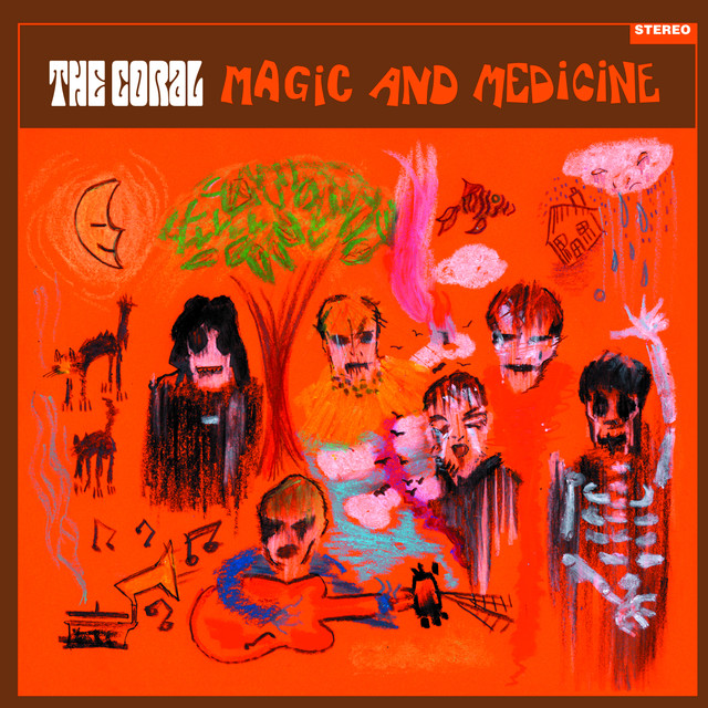 Album cover for Magic & Medicine by The Coral
