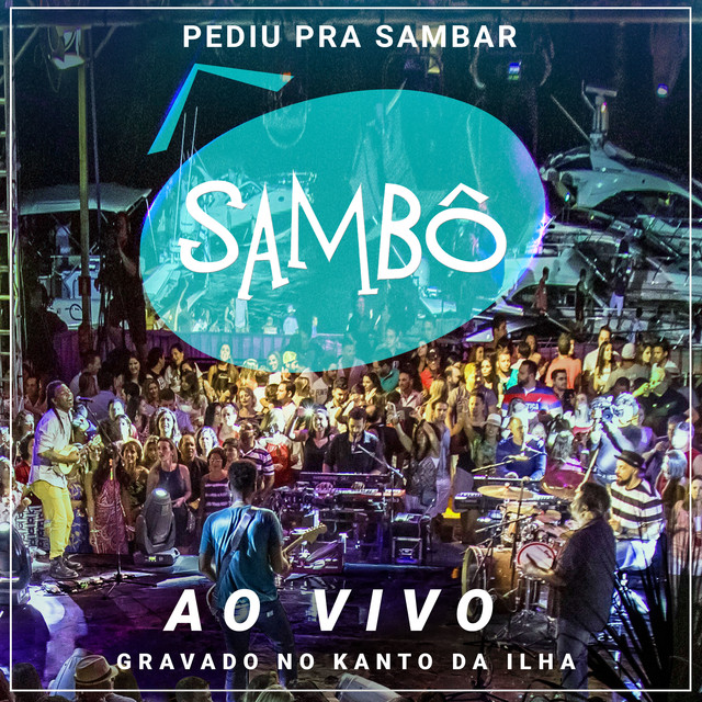 Album cover for Pediu pra Sambar, Sambô - Ao Vivo by Sambo