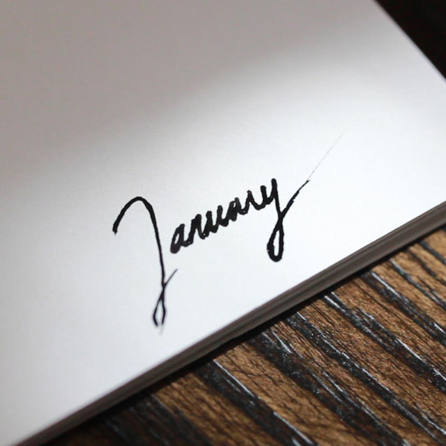 Calendar Project: January