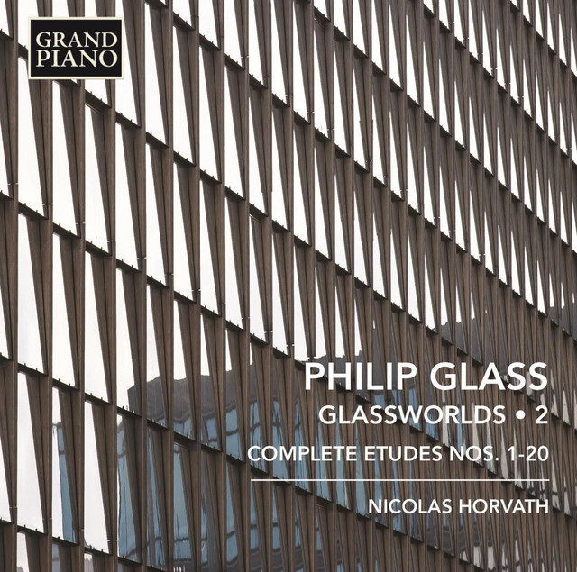 Glass: Glassworlds, Vol. 2 Albumcover