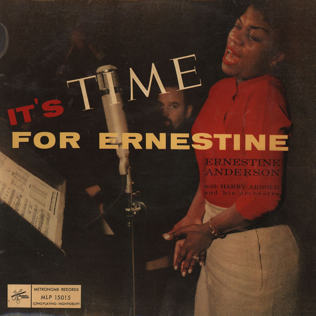 Ernestine Anderson, Harry Arnold And His Orchestra It's Time for Ernestine album cover