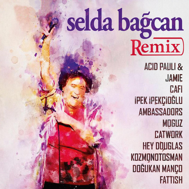 Album cover for Selda Bağcan Remix by Selda Bağcan
