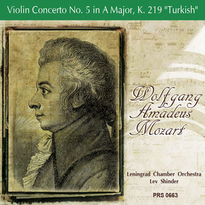 "Mozart: Violin Concerto No. 5 in A Major, K. 219 ""Turkish"" Albümü"