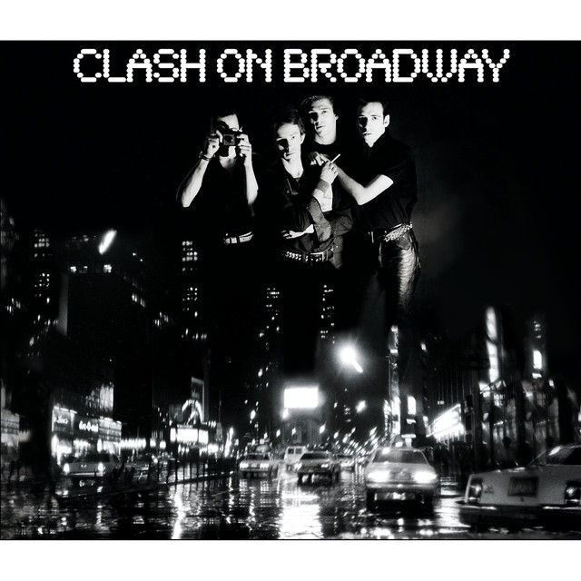 The Clash Clash on Broadway album cover