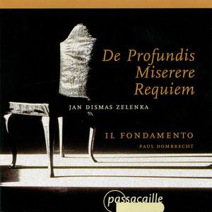 Zelenka: De Profundis, Misere & Requiem Albumcover