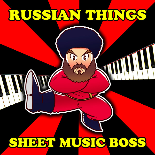 Album cover for Russian Things by Sheet Music Boss