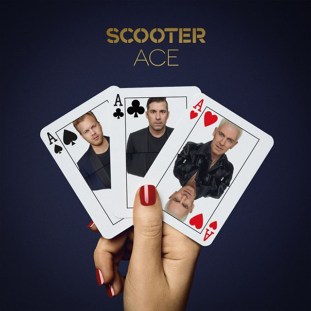 Album cover for Ace by Scooter