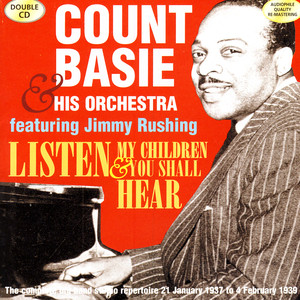 Count Basie & His Orchestra feat. Jimmy Rushing Swingin' The Blues cover