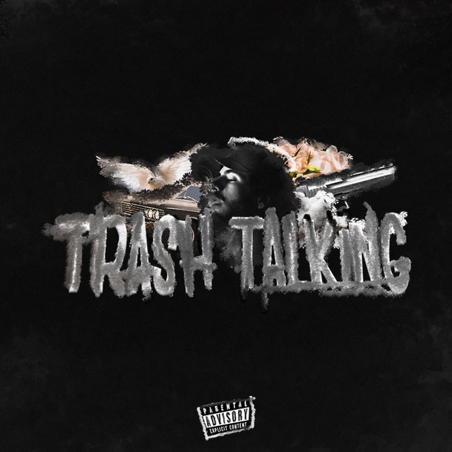 Album cover for Trash Talking by Zeu