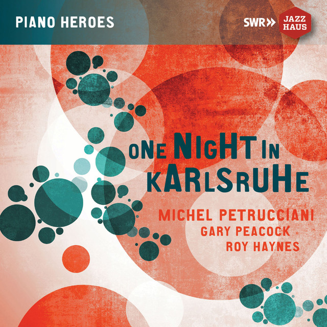 Album cover for One Night in Karlsruhe (Live) by The Michel Petrucciani Trio