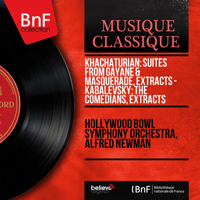 Khachaturian: Suites from Gayane & Masquerade, Extracts - Kabalevsky: The Comedians, Extracts (Mono Version) Albumcover
