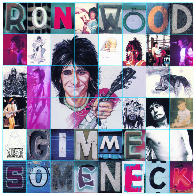 Ron Wood Gimme Some Neck album cover