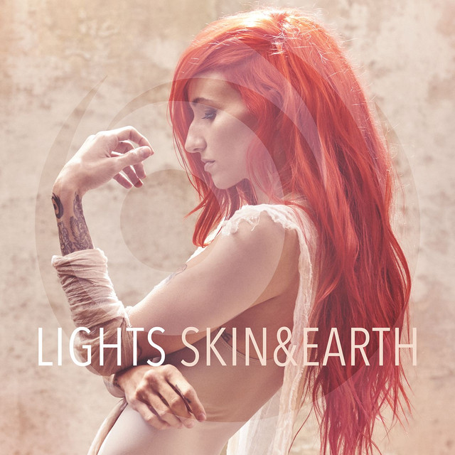 Album cover for Skin&Earth by Lights