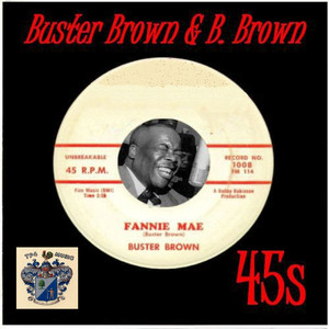 Buster Brown and B.Brown 45s album