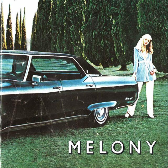 Skivomslag för Melony: Satisfiction