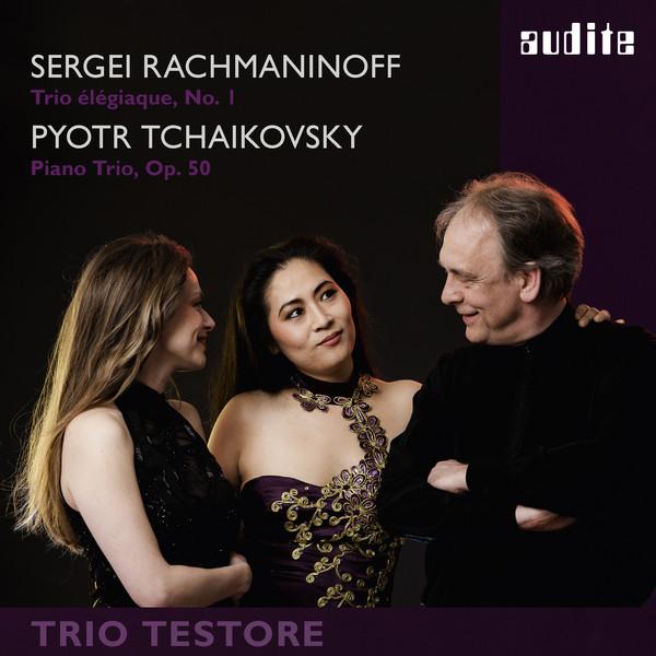 Rachmaninoff & Tchaikovsky: Piano Trios Albumcover