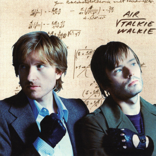 Album cover for Talkie Walkie by Air