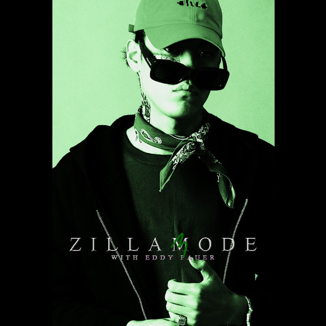 Album cover for zillamode 3 with Eddy Pauer by ZENE THE ZILLA