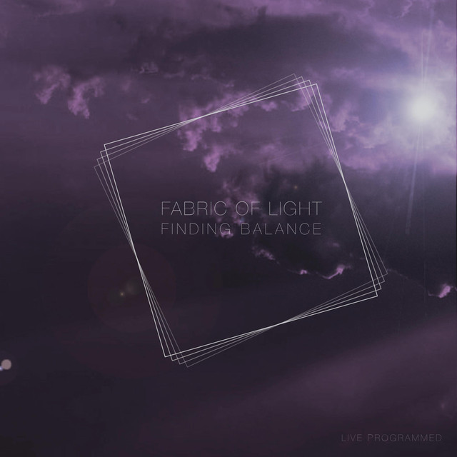Album cover for Finding Balance by Fabric of Light