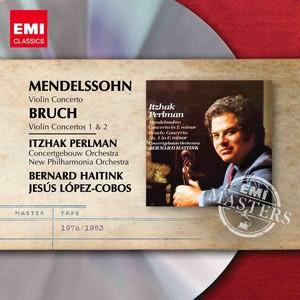 Bruch & Mendelssohn: Violin Concertos Albumcover