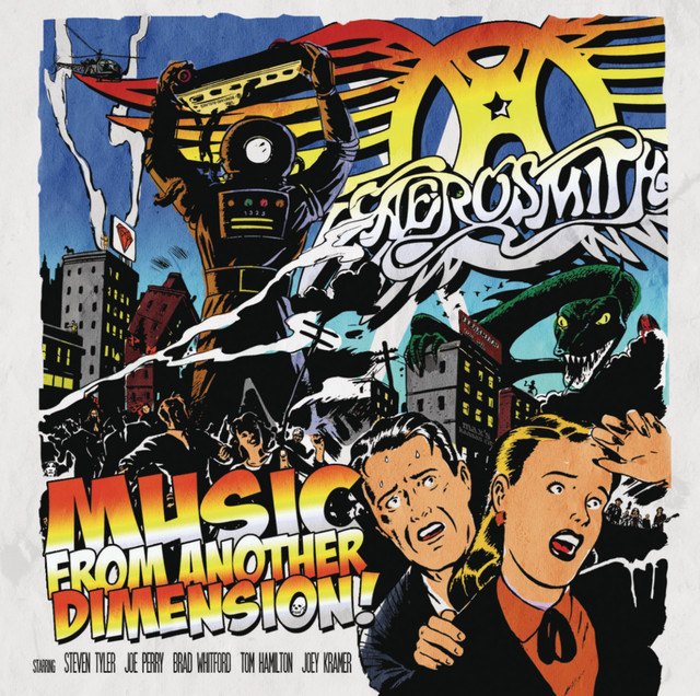 Aerosmith Music from Another Dimension! album cover