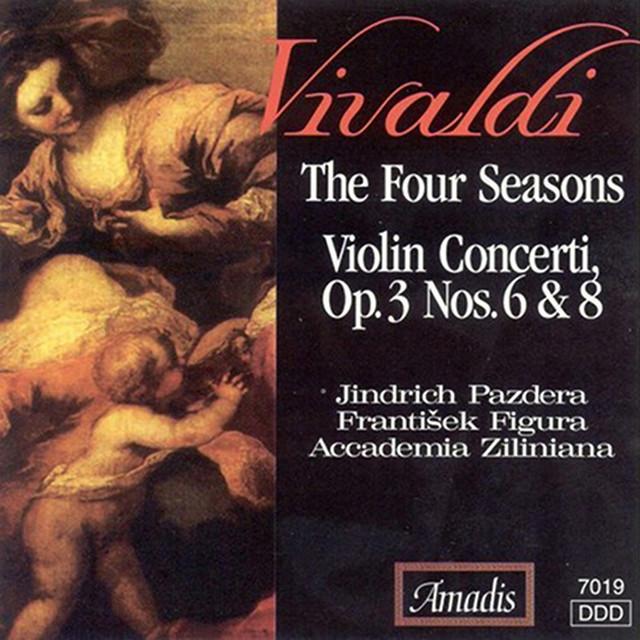 Vivaldi: The 4 Seasons / Violin Concertos, Op. 3, Nos. 6 and 8 Albumcover