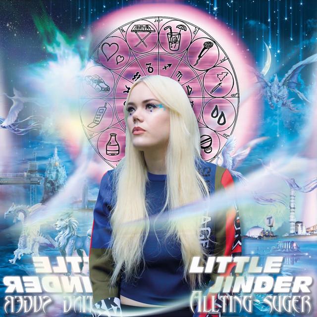 Skivomslag för Little Jinder: Allting Suger
