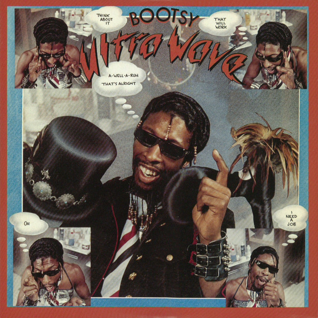 Bootsy Collins Ultra Wave album cover