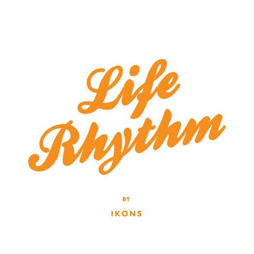 Skivomslag för Ikons: Life Rhythm
