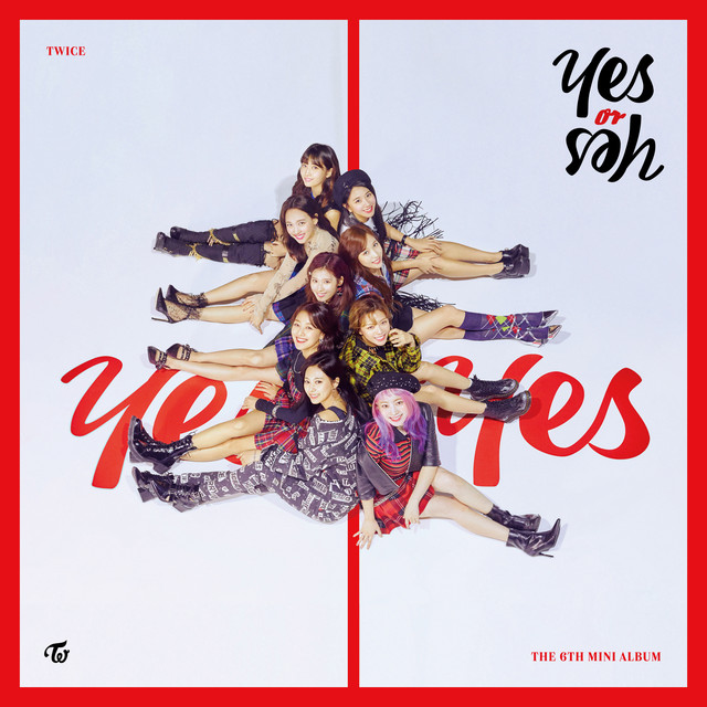 Album cover for YES or YES by TWICE