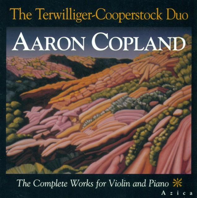 Copland, A.: Violin and Piano Music (Complete) Albumcover