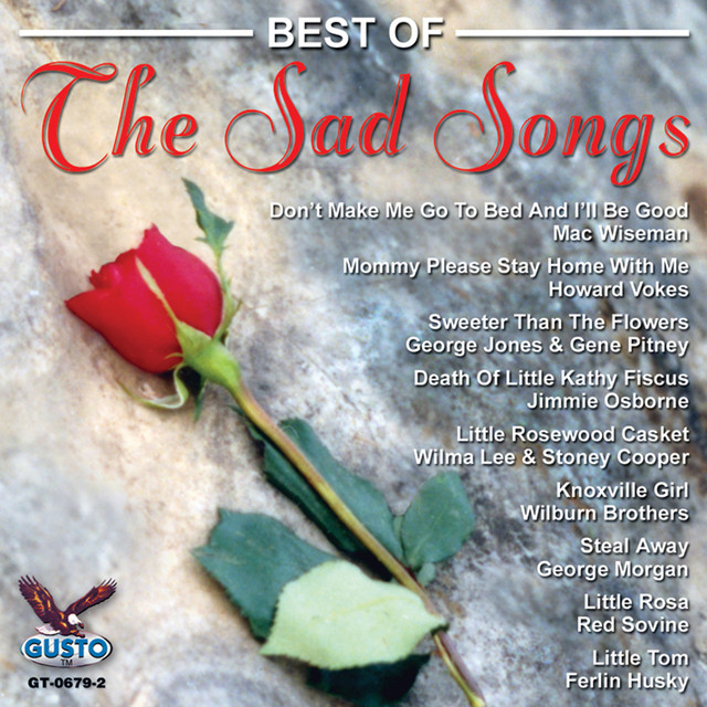 Various Artists Best Of The Sad Songs album cover