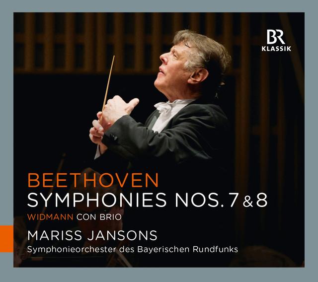 Beethoven: Symphonies Nos. 7 & 8 - Widmann: Con brio Albumcover