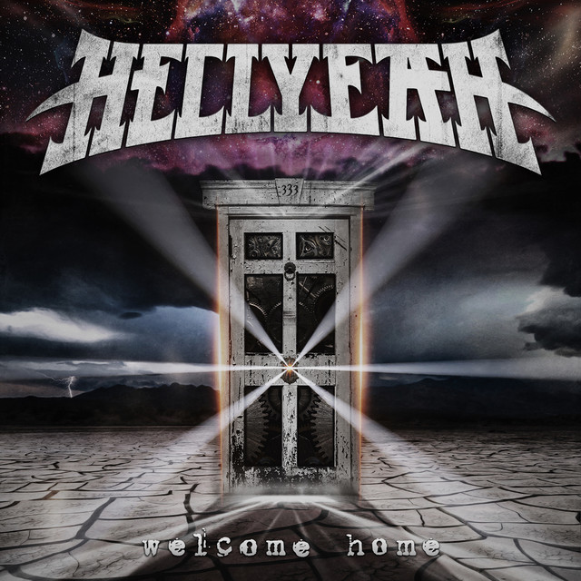 Album cover for Welcome Home by HELLYEAH