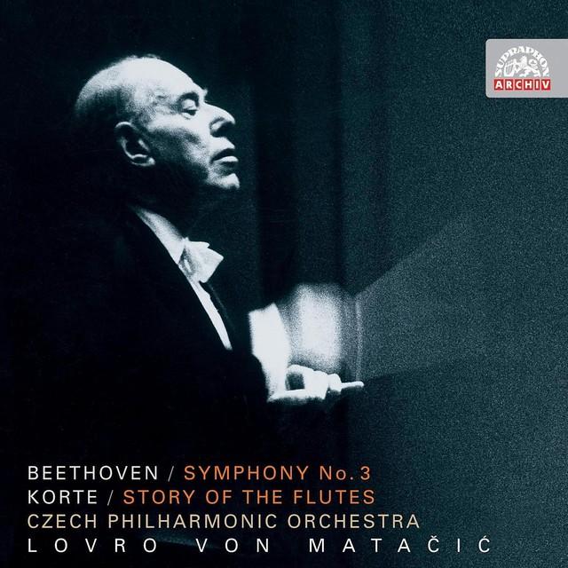 Beethoven: Symphony No. 3 in E flat major, Eroica, Op. 55 - Korte: Flute's Story Albumcover